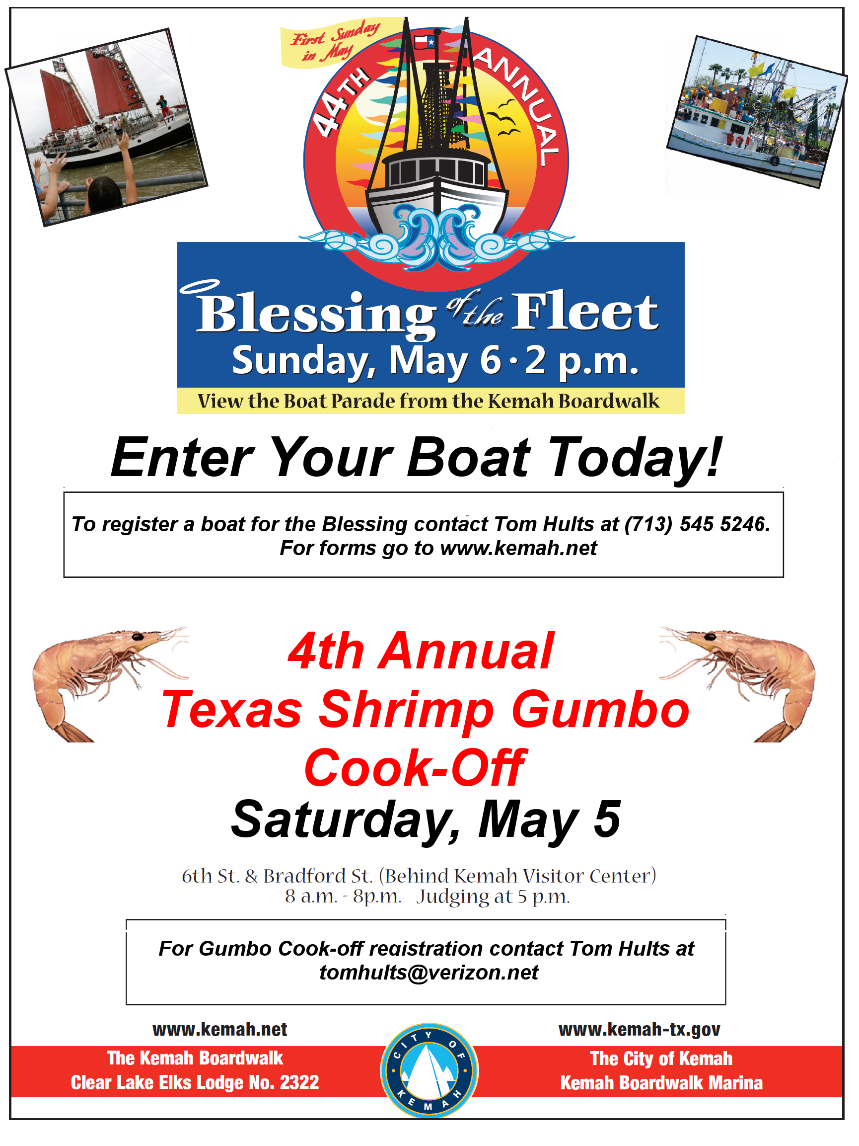 Make plans now to