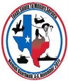 Texas Salute To Military Service Support Wounded Service Members
